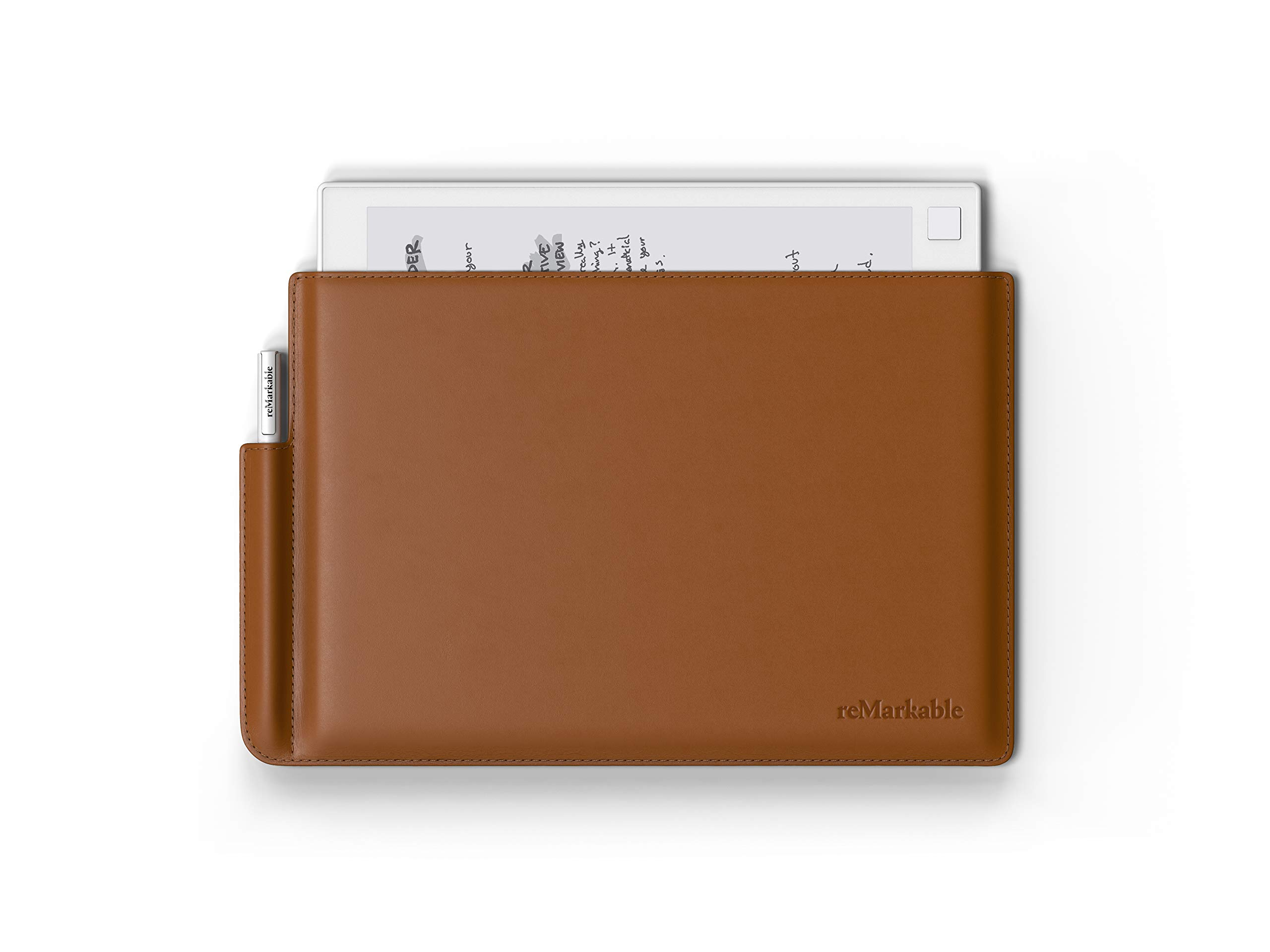 reMarkable Folio: Maple Brown - Premium Leather - The Official Sleeve for The reMarkable Paper Tablet