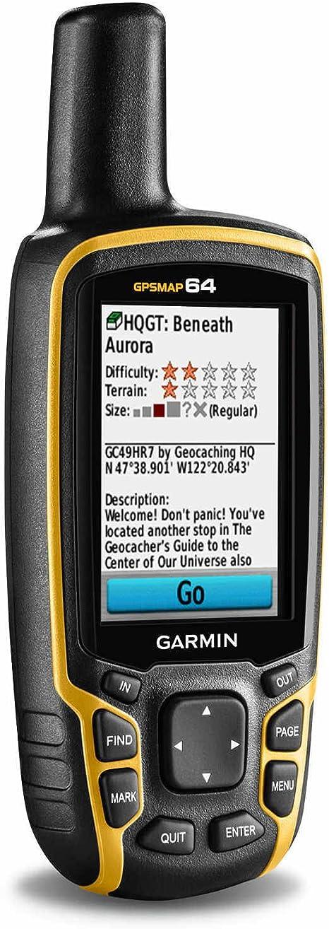 Garmin Map 64-Navigador GPS, Multicolor, Negro/Naranja: Amazon.es: Deportes y aire libre