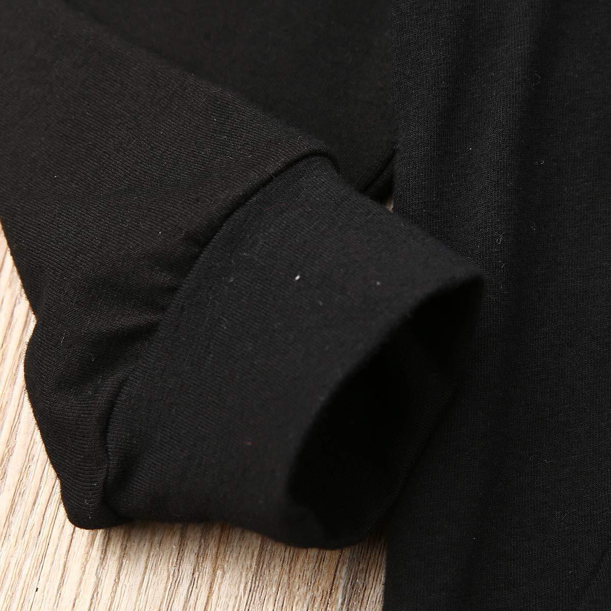 Urkutoba Unisex Baby Autumn Winter Hooded T-Shirt Infant Boys Girls Cotton Hoodies with Muff Pockets