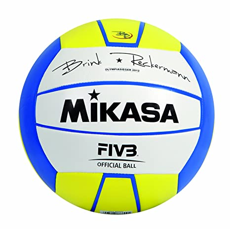 Mikasa Brink Reckermann - Balón de volley playa: Amazon.es ...
