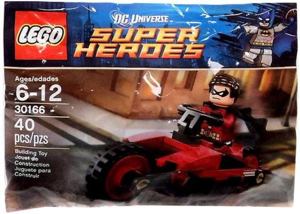 Lego Super Heroes Robin and Redbird Cycle 30166 Polybag BNIP