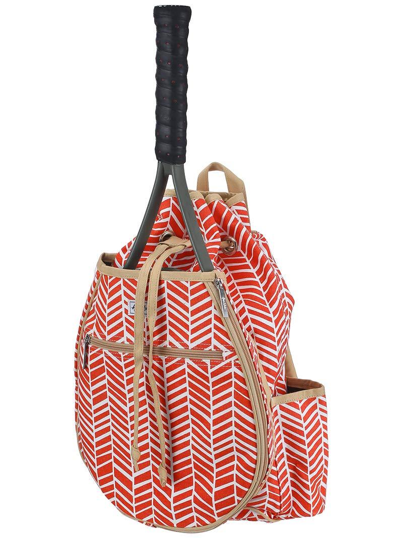 Ame & Lulu Kingsley Tennis Backpack (Tango)