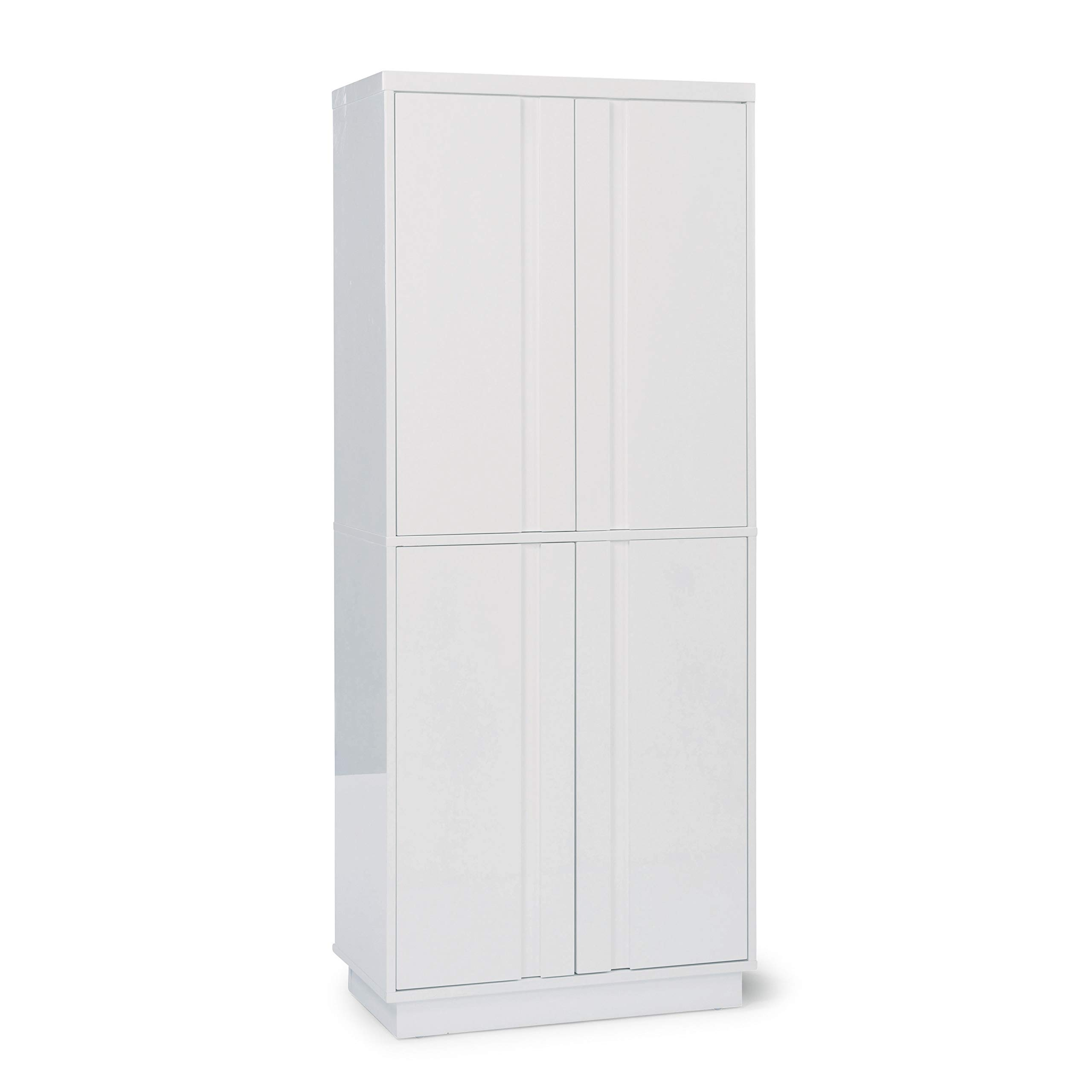 Linear White Pantry by Home Styles