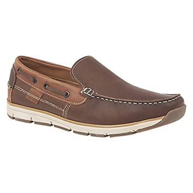 Superlight Mens Slip On Apron Tab Moccasin Leisure Shoes