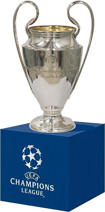 Comprar UEFA UEFA-CL-45-HP Réplica Liga de Campeones Encendido Madera Pedestal, Unisex-Adult, Metal, Trofeo 45 Mm
