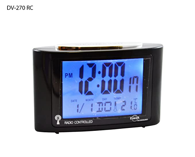 1 opinioni per Sveglia Digitale Radiocontrollata LCD Nero