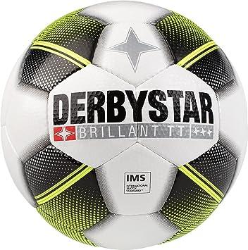 Derbystar Brillant TT Adultos HS Fútbol, Color Blanco Negro ...