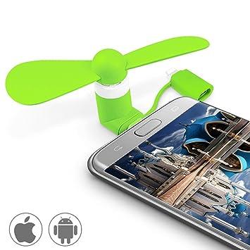 Kleine Klimaanlage Geräte Haushaltsgeräte Mini Micro Usb Fan Tragbare Kühlung Reise Fan Für Android-handy