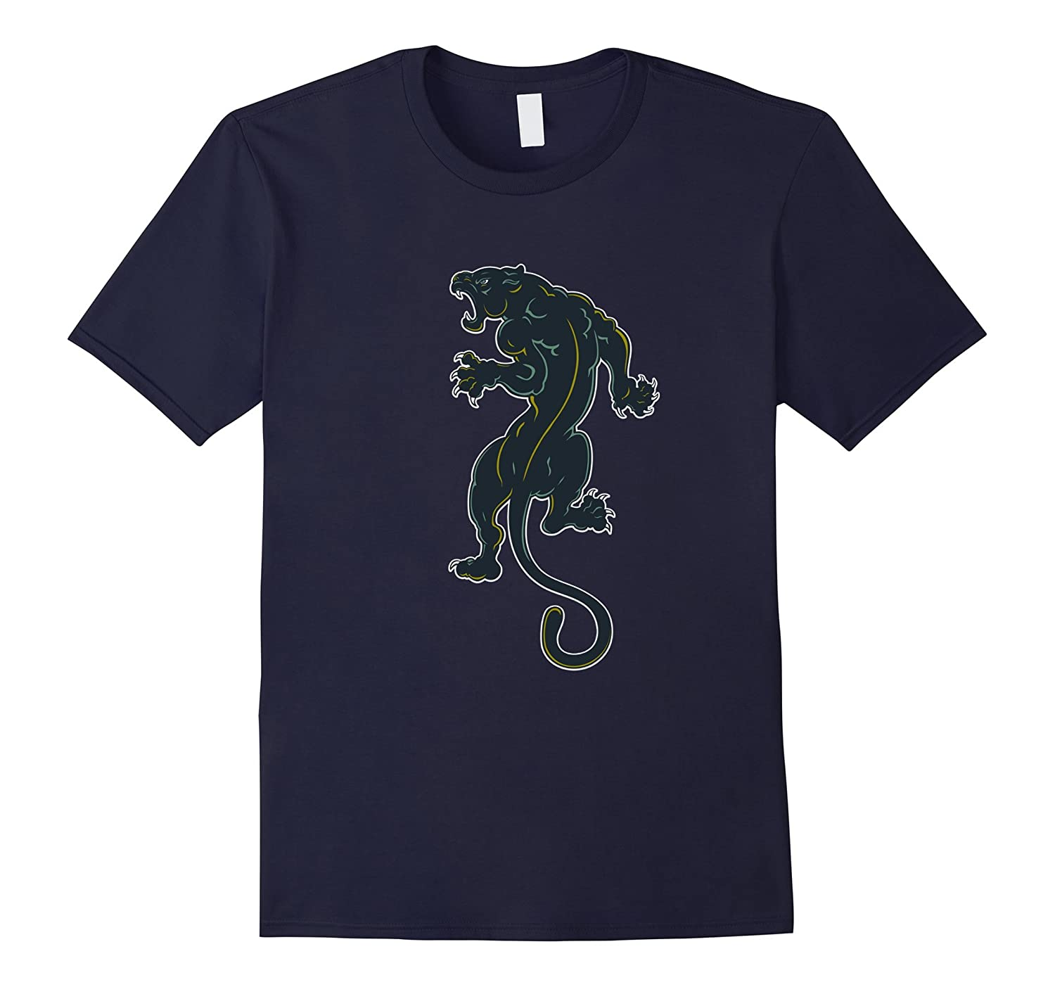 Black Tiger T Shirts For Women Graphic Tees For Men TeeToop-BN