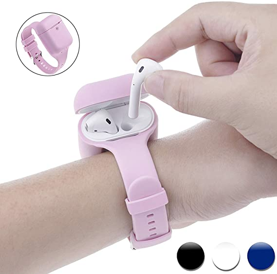 Amazon Com Newest 2019 Wrist Band For Airpods Case Accessories