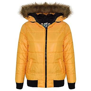 4deffb5e4 A2Z 4 Kids® Kids Boys Girls Jackets Designer s Mustard Hooded ...