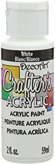 product image for DecoArt DCA01-3 Crafter's Acrylic Paint, 2-Ounce, White