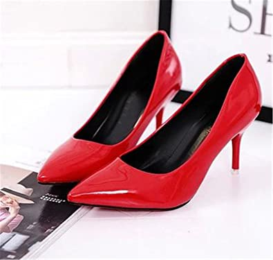 48f3a09b02 Robert Reyna Nice Woman High Heels Suede Fine with Variety of High-Heeled  5cm Women