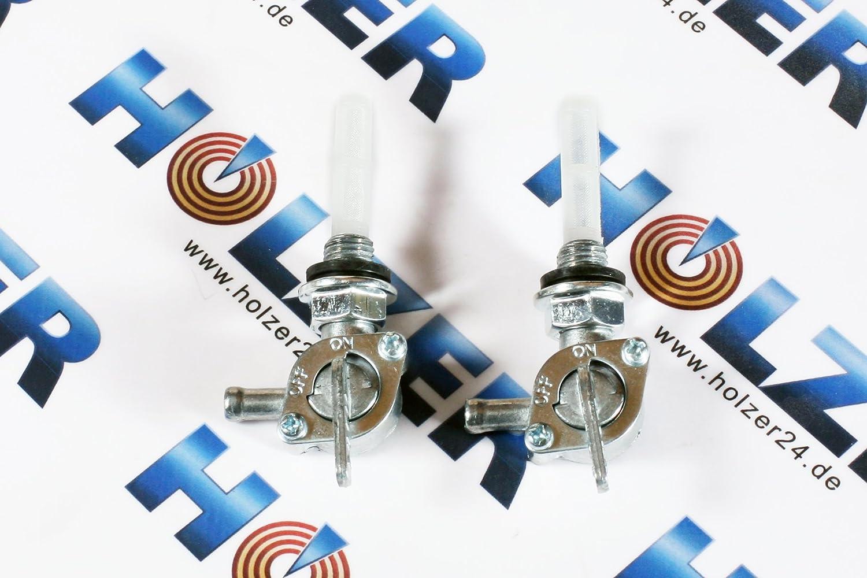 2 X rubinetto benzina per diverse generatore di corrente e motori a benzina Noname