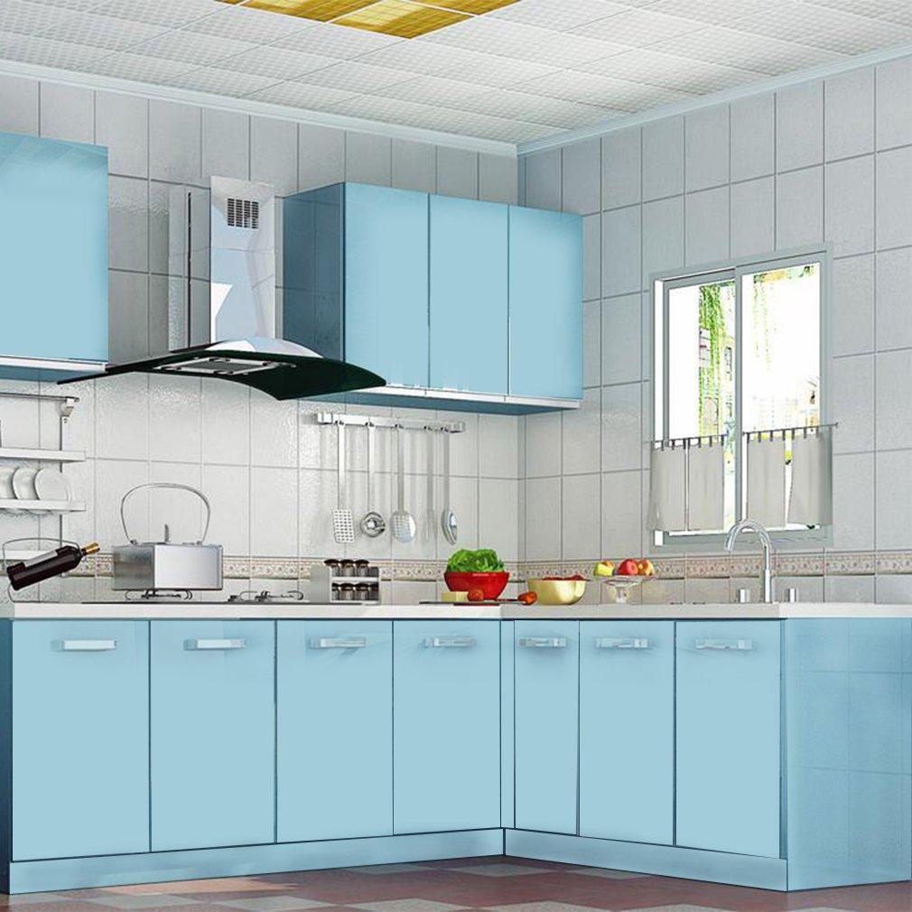 Amazon.de: KINLO 5pcs Elegant Selbstklebend Küchenfolie PVC 0.61x5M ...
