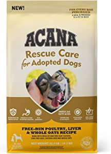 ACANA Rescue Care For Adopted Dogs, Food for Rescue & Newly Adopted Dogs, Immune and Digestion Support