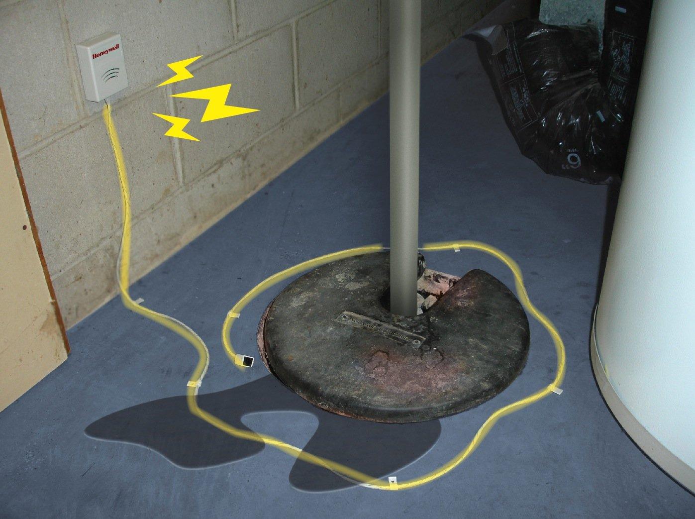 Honeywell RWD41 Water Defense Water Sensing Alarm RWD41//T