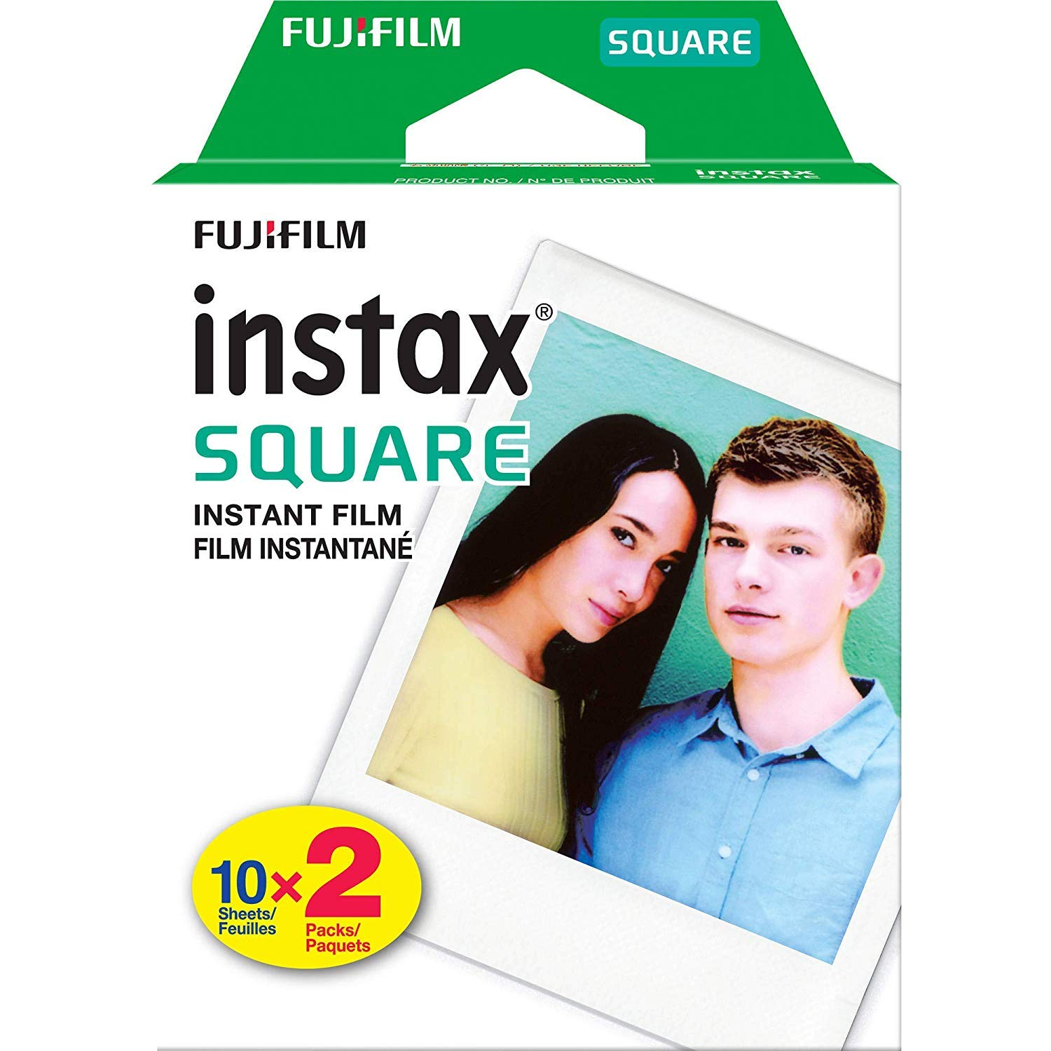 Fujifilm Instax Square SQ20 Hybrid Instant Camera (Black) - Deluxe Accessory Bundle with 40 Sheets of Instant Film + 16GB Micro sd Card + Case + Xpix Camera Strap and More. (USA Warrantty) by Fujifilm (Image #8)