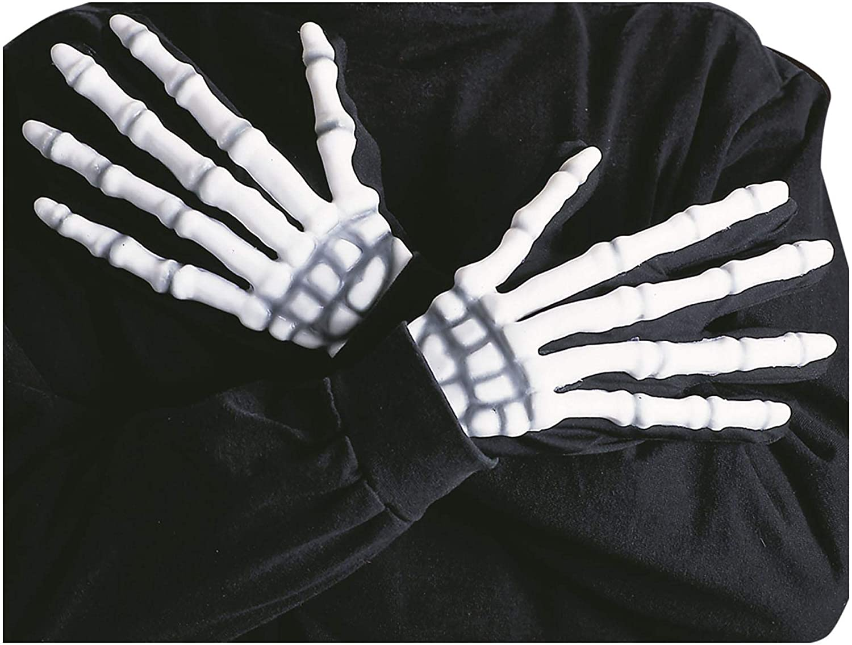 Skeletongloves Skeleton Fancy Dress Gloves Halloween Costume Widmann S.r.l