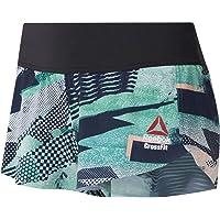 Reebok RC Knw Short Print - Pantalón Corto Mujer