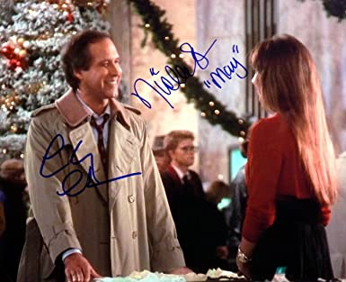 Chevy Chase/Nicolette Scorsese Dual Signed National Lampoon ...