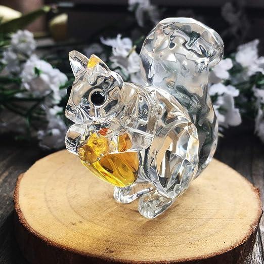 H y D Cristal Animales Figura Coleccionable Pisapapeles Adorno de ...