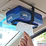 Car tissue paper box holder Auto rear seat headrest support Hold Clip