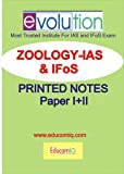 EducomiQ Zoology Optional Printed Notes by Evolution Coaching [IAS] [IFoS].