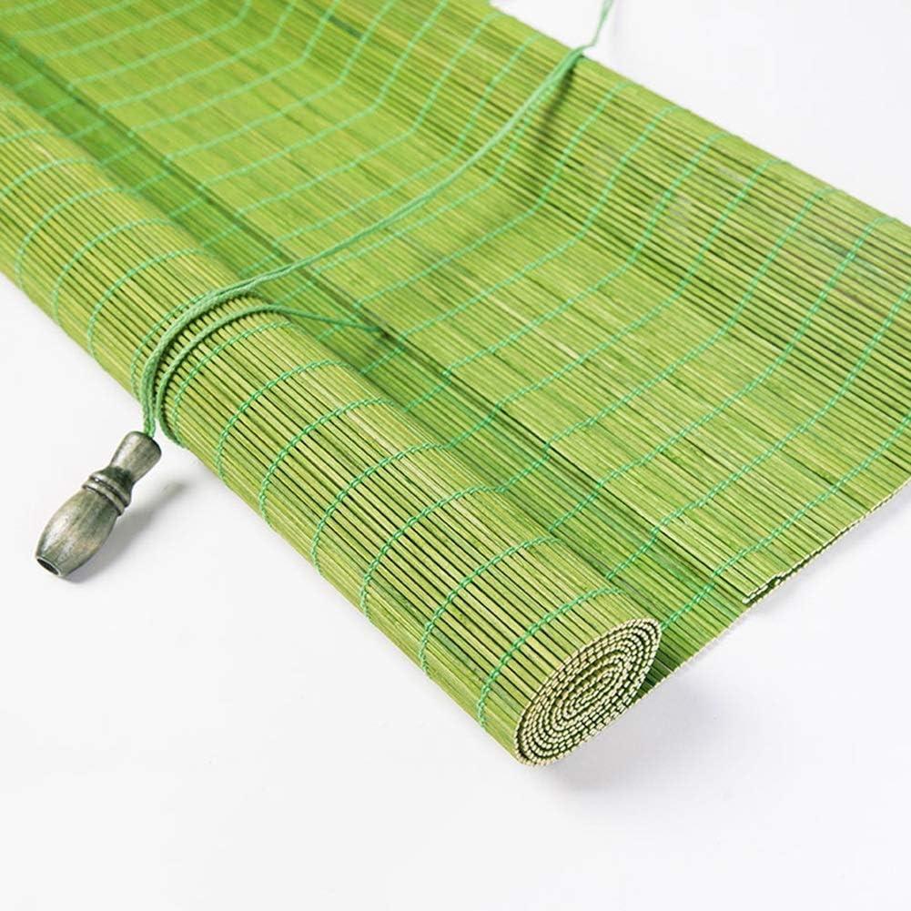 Persiana de bambú Cortina Interior/Exterior con Persianas Enrollables Verde, Patio/Gazebo/Pérgola/Marquesina Techada, 60cm/80cm/100cm/120cm/140cm De Ancho: Amazon.es: Hogar