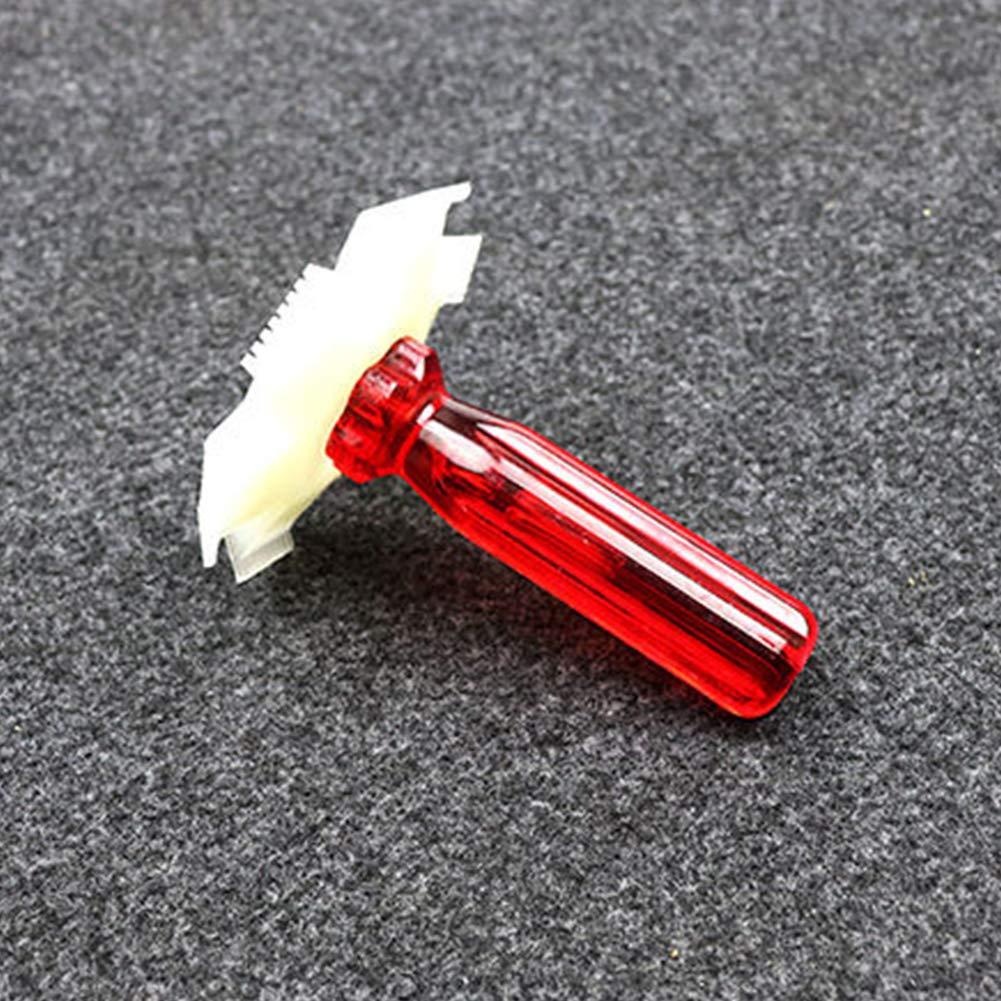 Xiegons3 Fin Nid Air Apr/ès-shampoing Radiateur Huile Refroidisseur Condenseur Nettoyant Fer /à Lisser Enl/ève D/ébris Poign/ée R/âteau Outil Evaporateur Latte Sy Propre