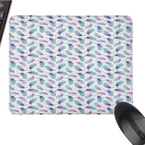 Amazon.com: Almohadilla de ratón grande para juegos, pluma ...