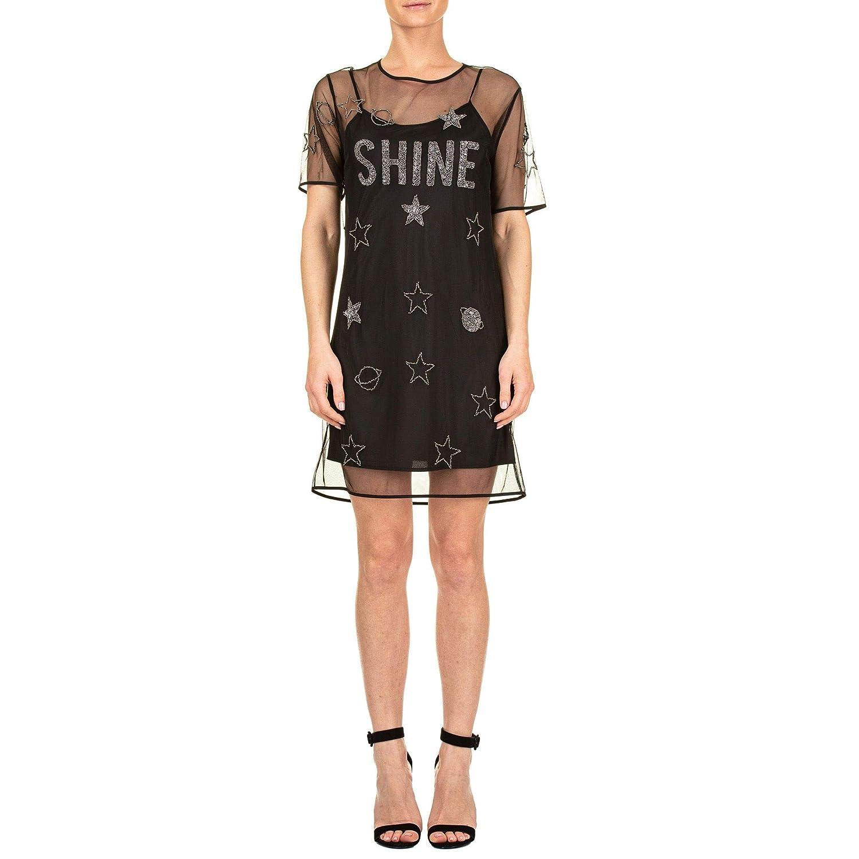 Trussardi Women's 56D002091T001511K299 Black Polyester Dress