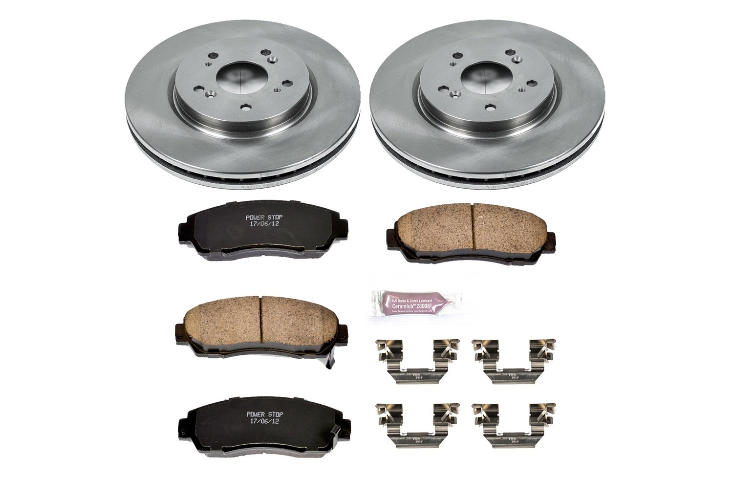 Autospecialty KOE228 1-Click OE Replacement Brake Kit