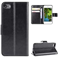 Luckyandery iPod Touch 6 Wallet Case Holster,iPod Touch 6 Flip Case Card Holder, Stand Case Folio Book Flip Cover Built…