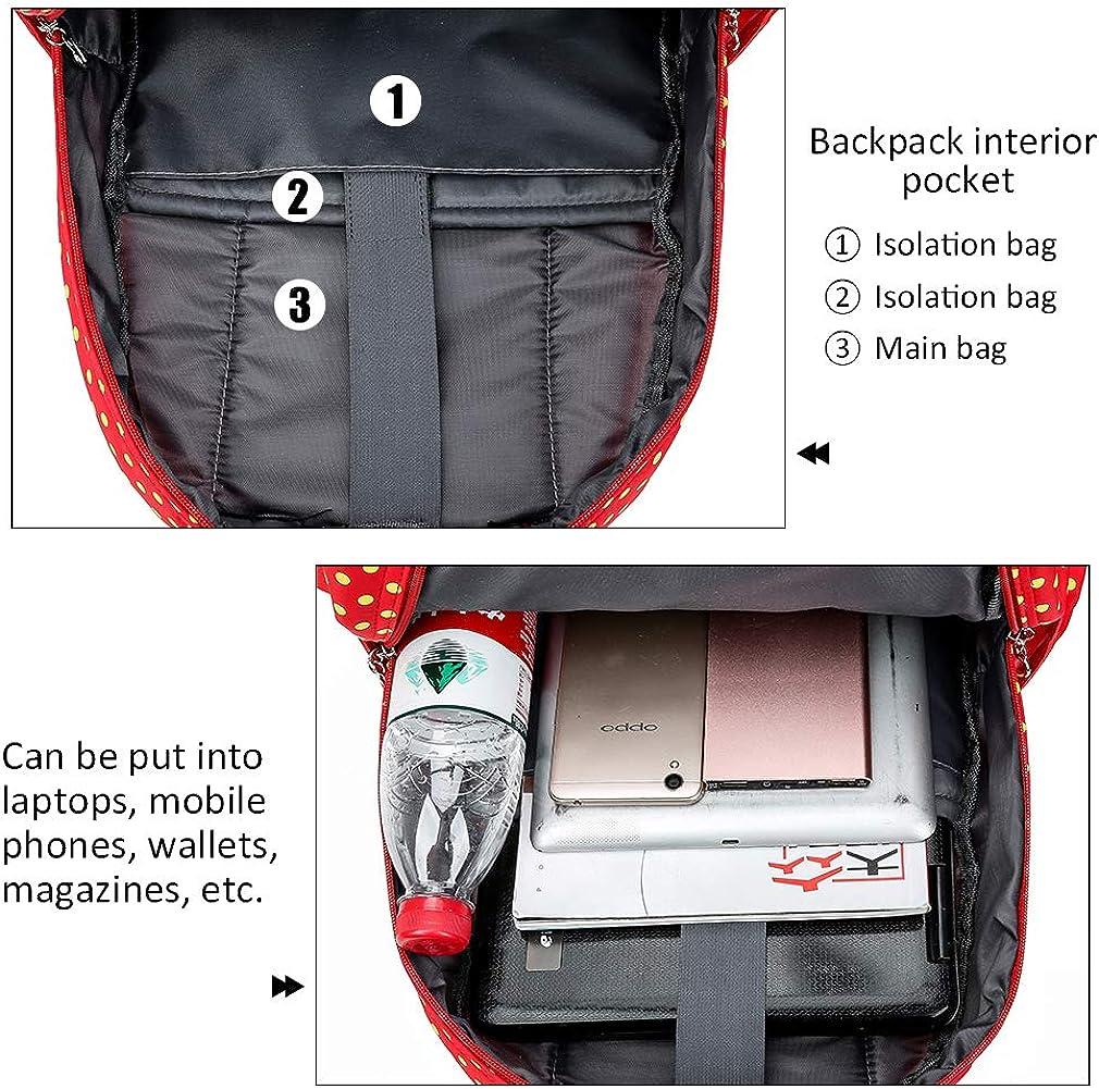 Pahajim Cute School Bags Fashion Casual Bookbag Girls/&Boys Backpack Set Teen Bookbag with Lunch Box Bag and Pencil Case 4 Sets Shoulder Bag