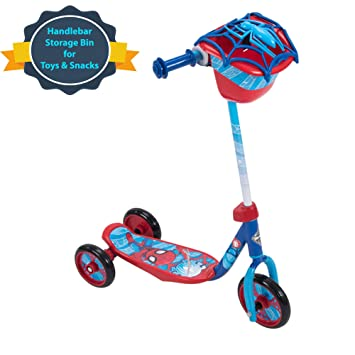 Huffy Three-Wheel Preschool Scooter Disney Pixar Cars, Star Wars, Disney Princess, Disney Frozen, Marvel Spider-Man