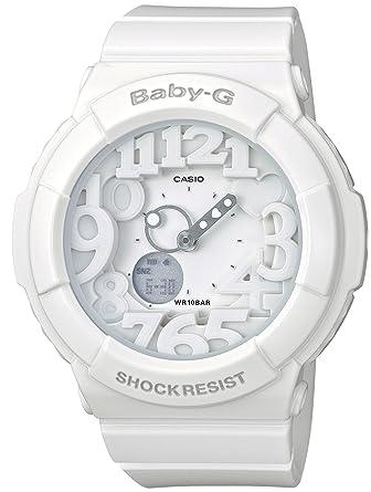 Baby-G BabyG 新品 ネオンダイアルシリーズ 商品到着後レビューを書いて3年保証 ホワイト BGA-131-7B ベイビージー ギフト ベビーG 誕生日プレゼント カシオ アナログ Neon Dial Series CASIO 女性 ウォッチ 防水 腕時計 アナデジ レディース 白