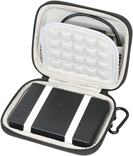 1x Shockproof 2.5 Inch External Hard Drive Carry Case HDD Bag For Seagate WD