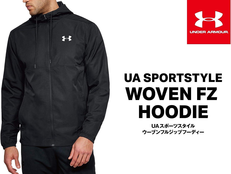 Choose SZ//Color Under Armour Men/'s Sportstyle Woven Full Zip Hoodie
