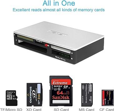 Amazon.com: Indmem - Lector de tarjetas SD portátil USB 3.0 ...