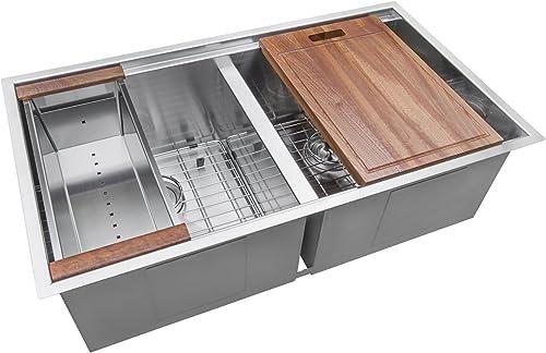 Ruvati 33-Inch-Best Stainless Steel Kitchen Sink