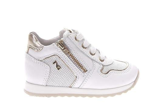 Descuentos Para La Venta Nero Giardini Junior sneaker in pelle dal n.19 al n. 22 Aclaramiento De Alta Calidad Estilo Manera De La Venta En Línea fwS3fcd6ww