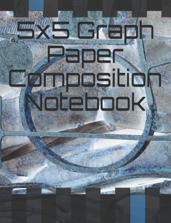 5x5 Graph Paper Composition Notebook: 7.44 x 9.69 in 200 Pages: Amazon.es: Designs, Lark: Libros en idiomas extranjeros