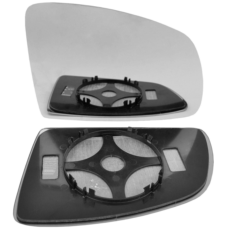 Right hand driver side wing door clip mirror glass # VaMer//F02-2010987//590