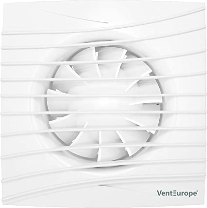 Energy Class A Venteurope Ve-Sf-Ultra Silent Fan with Timer for 4//100mm Duct