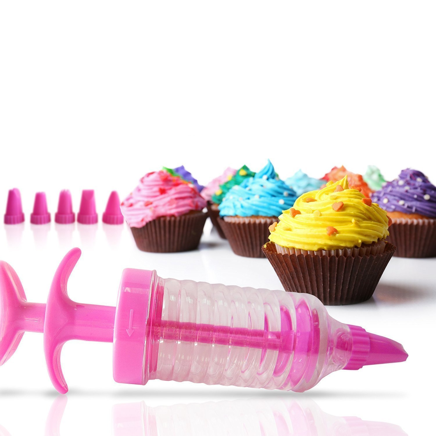 Amazon Cake Decorating Kit Set of 9 Icing Tips for Baking