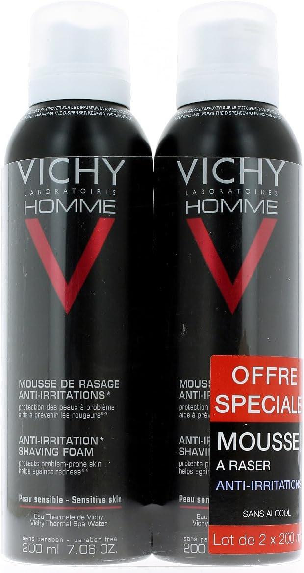 Vichy Homme Sensi Shave Espuma de Afeitar Anti Irritaciones - 400 ml