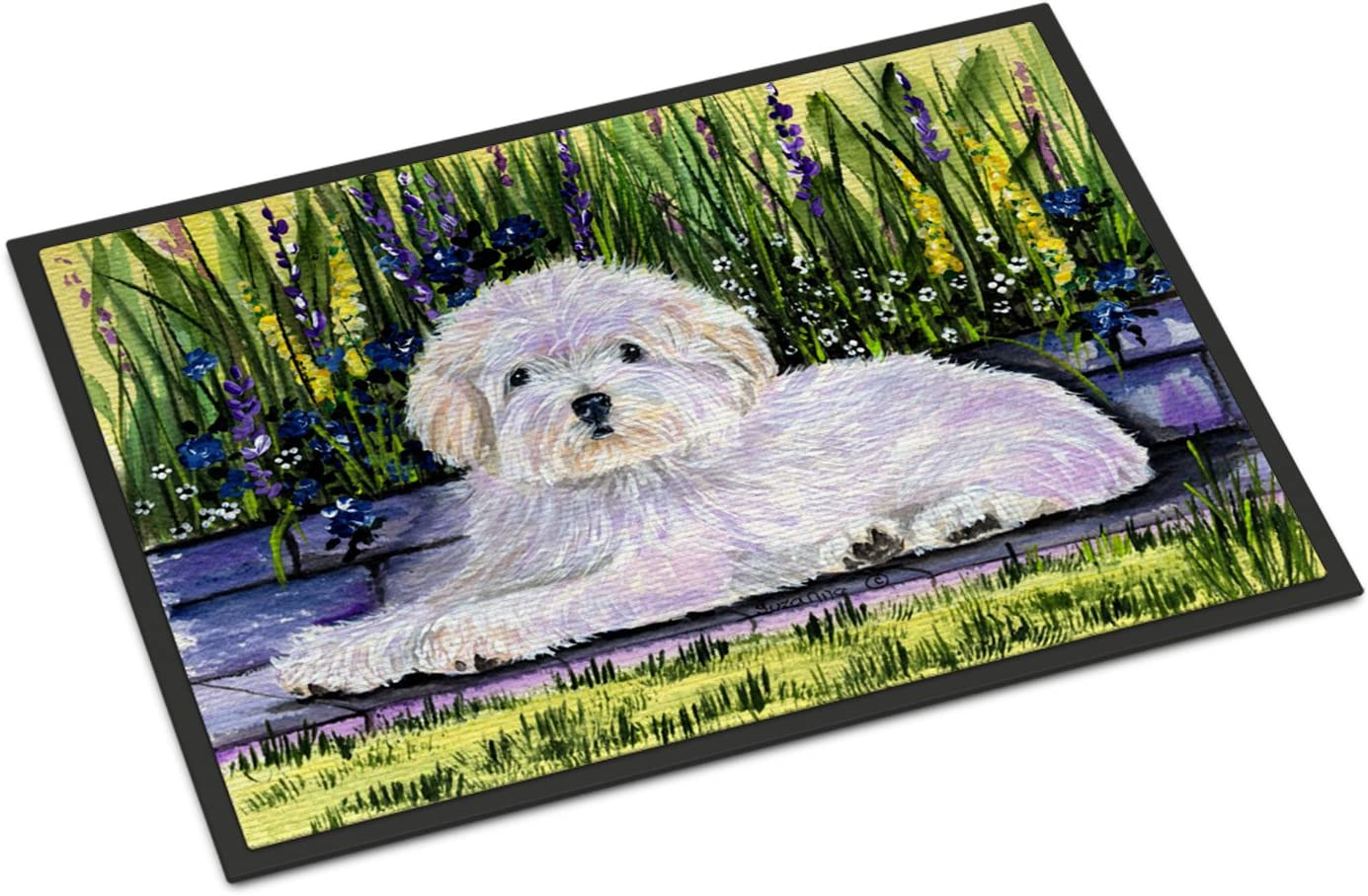 Caroline s Treasures SS8636MAT Sheltie Indoor Outdoor Mat 18×27 Doormat, 18H X 27W, Multicolor