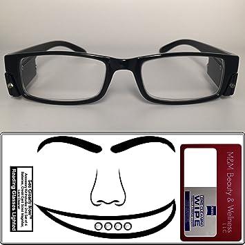 Amazon.com: anteojos de Lectura Lighted ~ Ver Claramente ...