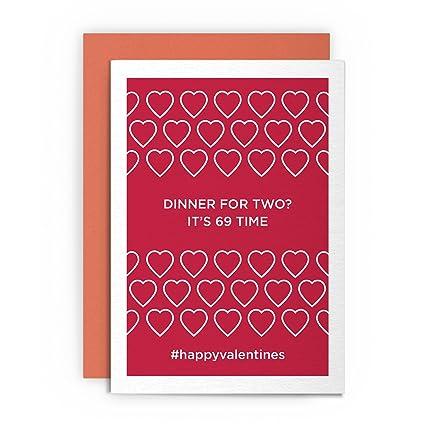 Día de San Valentín tarjeta para habitación de buen humor ...